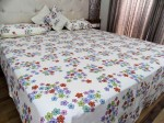 Floral Double Bed sheet