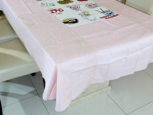 6 Seater Designer Donut Cotton Dining Table Cover