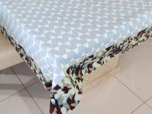 6 Seater Designer Cotton Dining Table Cover
