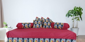 Kalamkari Diwan set (Set of 8 pcs.)