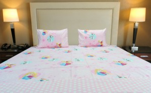 Frozen Princess Double Bedsheet