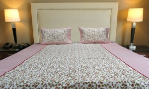 Pink Climber Double Bed sheet