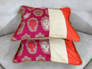 Art Silk Kalamkari Cushion cover Set