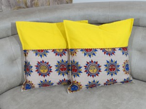 Sun Kalamkari Cushion cover Set