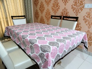 Cotton 6 Seater Dining Table Cover