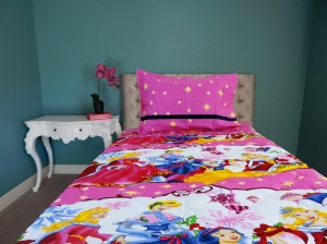 Princess Cartoon Quilt
