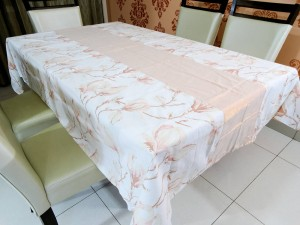 Designer 6 Seater Cotton Table Cover Set