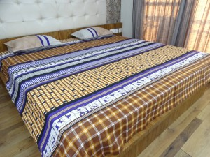Abstract Double Bed Sheet