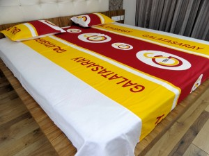 Football Club Double Bed Sheet