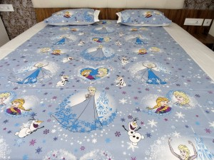 Magic Princess kid's Double Bed Sheet