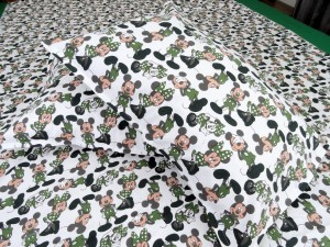 mickey kid's Double Bed Sheet