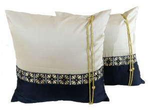 Beads and Threads Cushion Cover Set