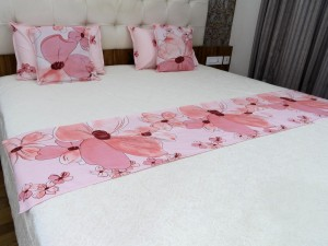 5 Pcs Bed Runner Set