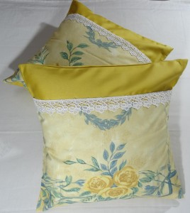 Victorian Print Cushion Cover Set Of 5 PCS