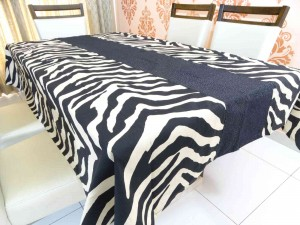 Designer Table Cover 6 Seater Cotton