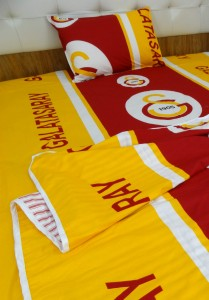 Bed in a Bag (3 Pcs) Football club Single Bed