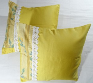 Victorian Print Cushion Cover Set Of 2 PCS