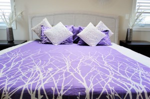 White Creeper Double Bedsheet
