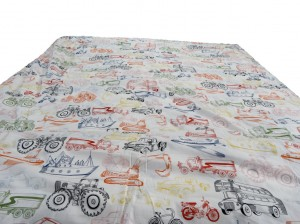 Vehicle Single Duvet (Blanket Cover)
