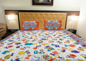 A to Z Double Bedsheet