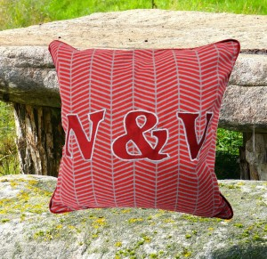 (U & I) Personalized Cushion Cover
