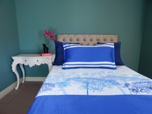 Shades of Blue Single Bedsheet