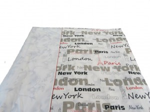 New York Single Duvet (Blanket Cover)