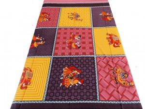Ethnic Cotton Single Bed Sheet