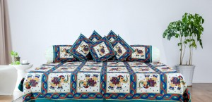 Diwan set (Set of 8 pcs.)