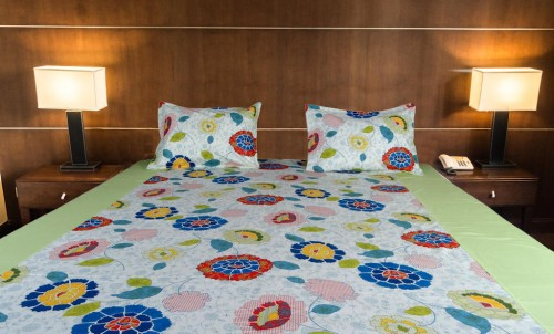 Designer double bed sheet from doppelgangerhomes