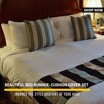 Designer Bed Runner Set