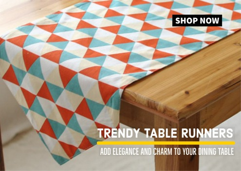 Trendy Table Runners