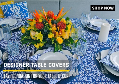 Designer Dining Table Covers