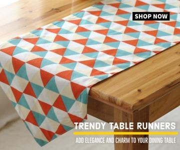 Trendy Table Runner