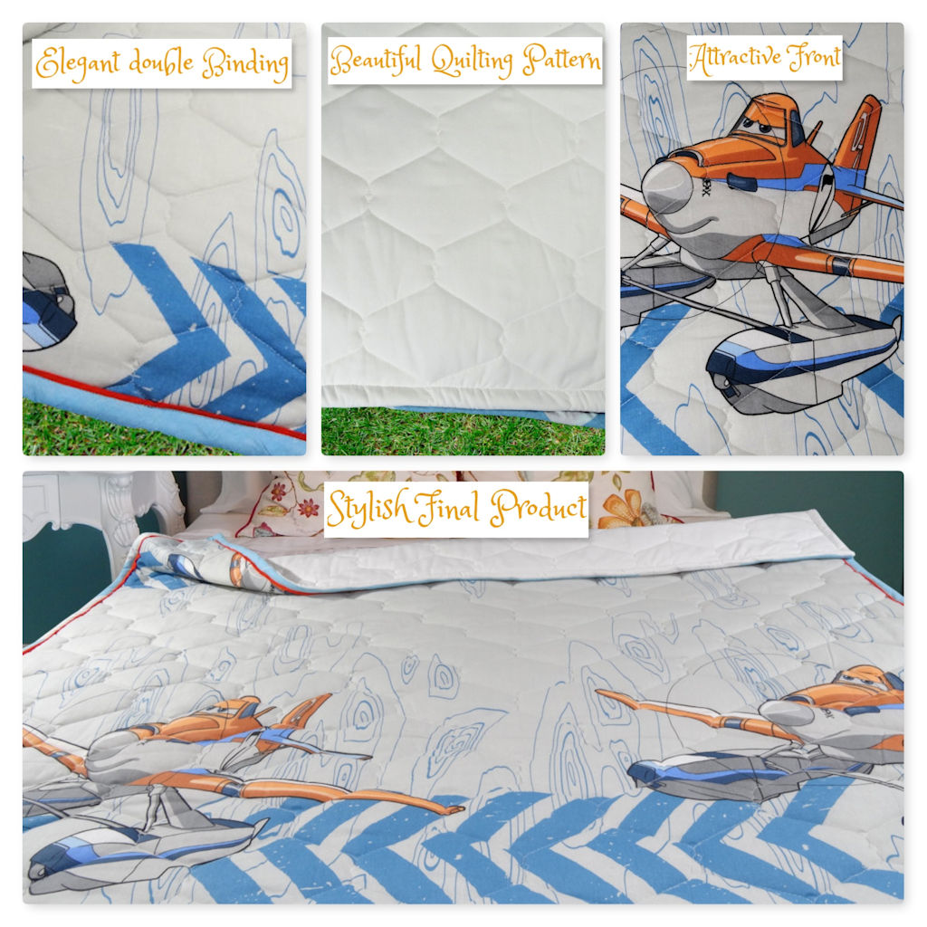 About Kids Single Bed Quilt