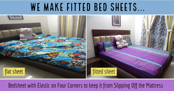 How to Choose the Perfect Designer Fitted Bed Sheet Online for your Bedroom?